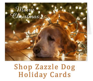 browse holiday dog christmas cards at Zazzle