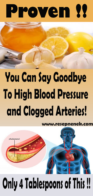 4 Tablespoons of This and You Can Say Goodbye To High Blood Pressure and Clogged Arteries!