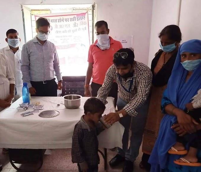 मातृ शिशु स्वास्थ्य पोषण दिवस पर किया गया चिकित्सा अधिकारी द्वारा किया गया निरीक्षण  swmnews24