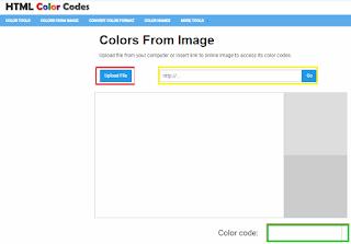 Cek dan deteksi warna HTML online