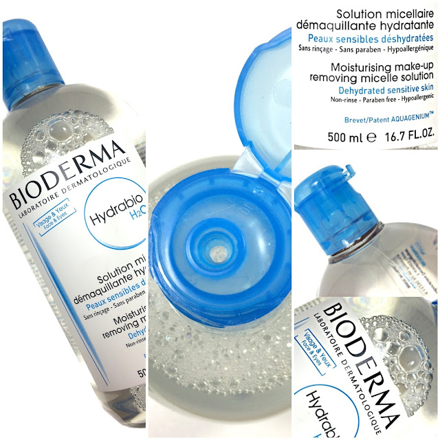 BIODERMA Eau Micellaire Hydrabio H2O . Review Photos