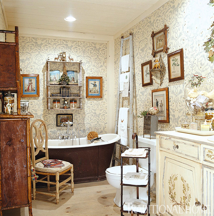 Country Christmas Bathroom Sets: Hydrangea Hill Cottage: French Country Christmas At The Cabin