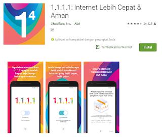 Ulasan Lengkap Aplikasi DNS 1.1.1.1 untuk Android