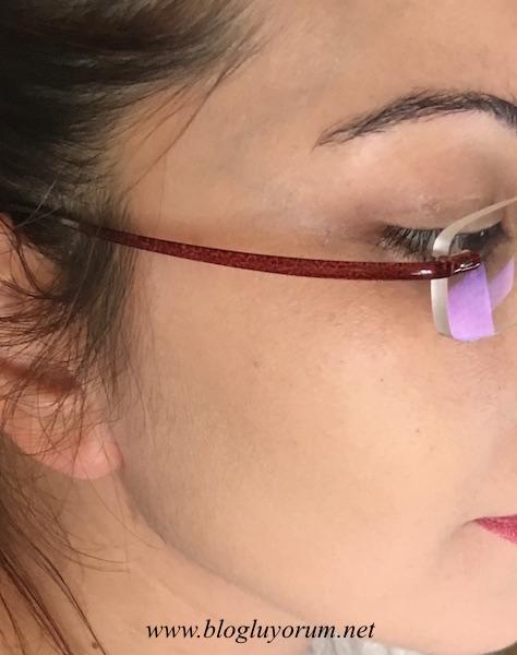 models own face base anti redness face primer kızarıklık önleyici yüz bazı swatch