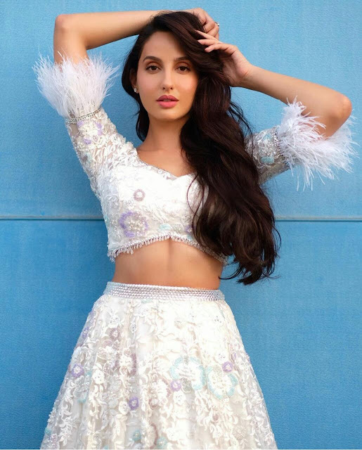 Nora Fatehi Traditional Look