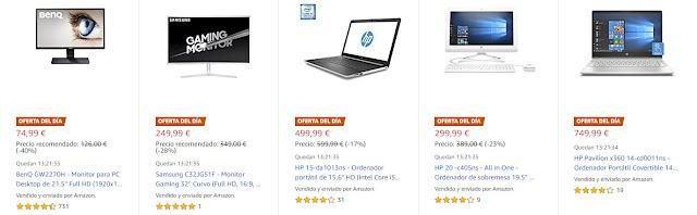 Ofertas 22-07 Amazon 10 mejores Ofertas del Día y Flash