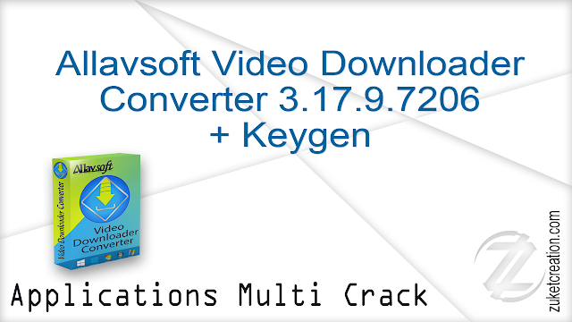 Allavsoft Video Downloader Converter 3.17.9.7206 + Keygen