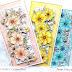Kwiatowe kartki trzy | Anna K.