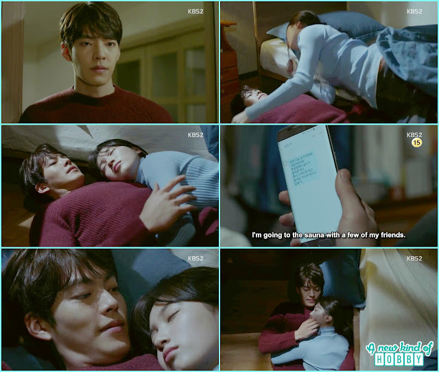 Joon YOung and no Eul sleep together at his mother house  - Uncontrollably Fond - Episode 17 Review