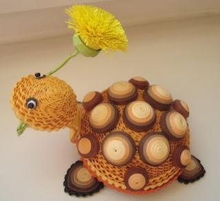 tartaruga quilling