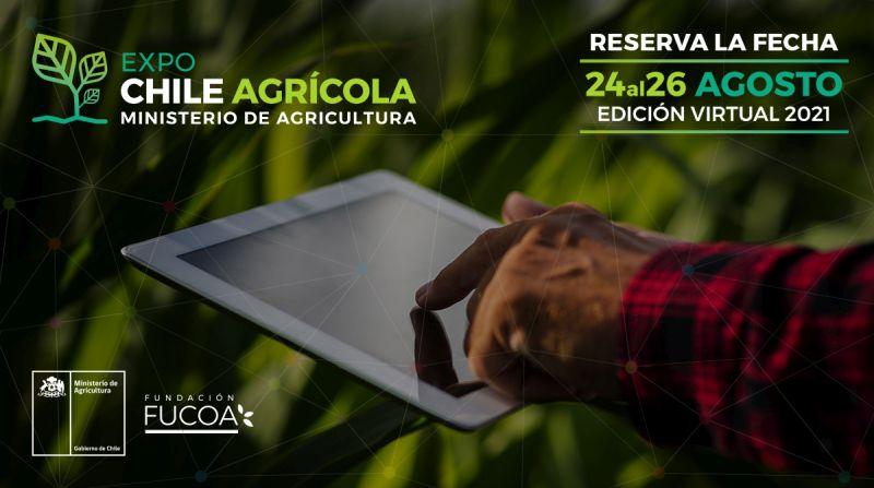 Expo Chile Agrícola 2021: el encuentro de capacitación más grande del país