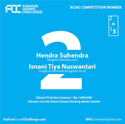 Pemenang Fashion Crowd Challenge Blog Competition - Blog Mas Hendra