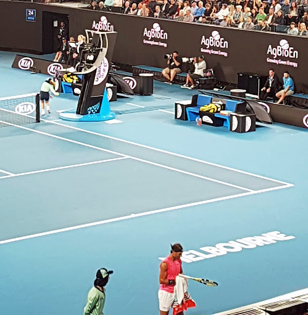 Australia Terbuka: Kalahkan Kyrgios, Nadal Melenggang ke Babak 8 Besar