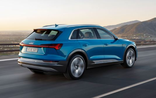 Audi E-Tron 2020 Rear View