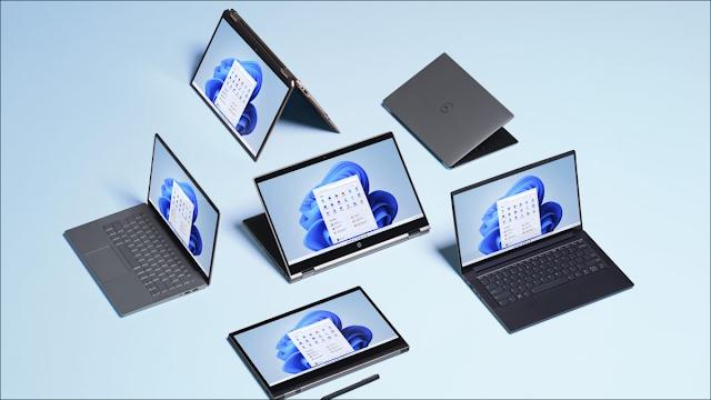 Windows 11 على أجهزة الكمبيوتر.
