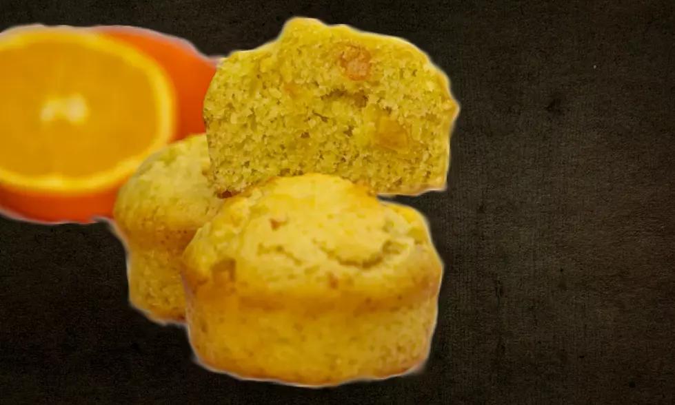 Vegan orange muffins