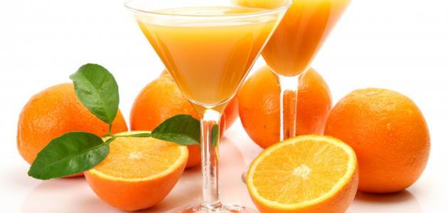 عصير البرتقال بالليمون والنعناع