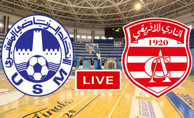 Watch Match US Monastir vs Club Africain Live Stream