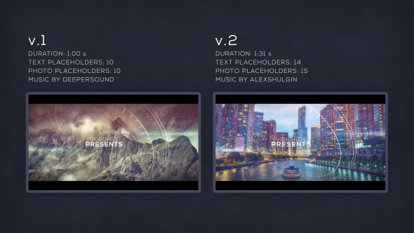 VIDEOHIVE PARALLAX GLITCH SLIDESHOW - Free Download After