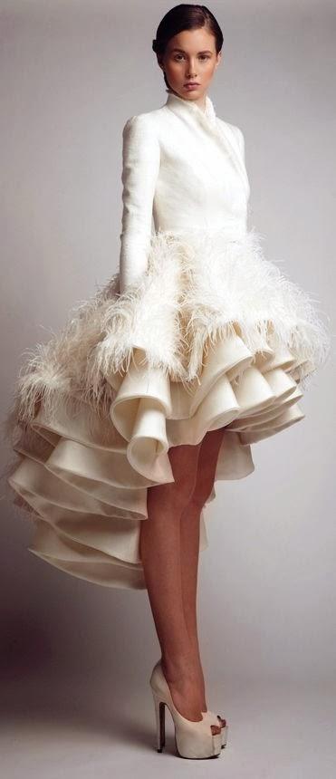 Women's Fashion: Winter white dress