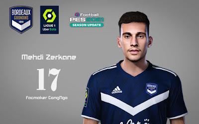 PES 2021 Faces Mehdi Zerkane by CongNgo