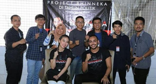 Project Bhinneka Bukan Alat Kampanye Zulhas