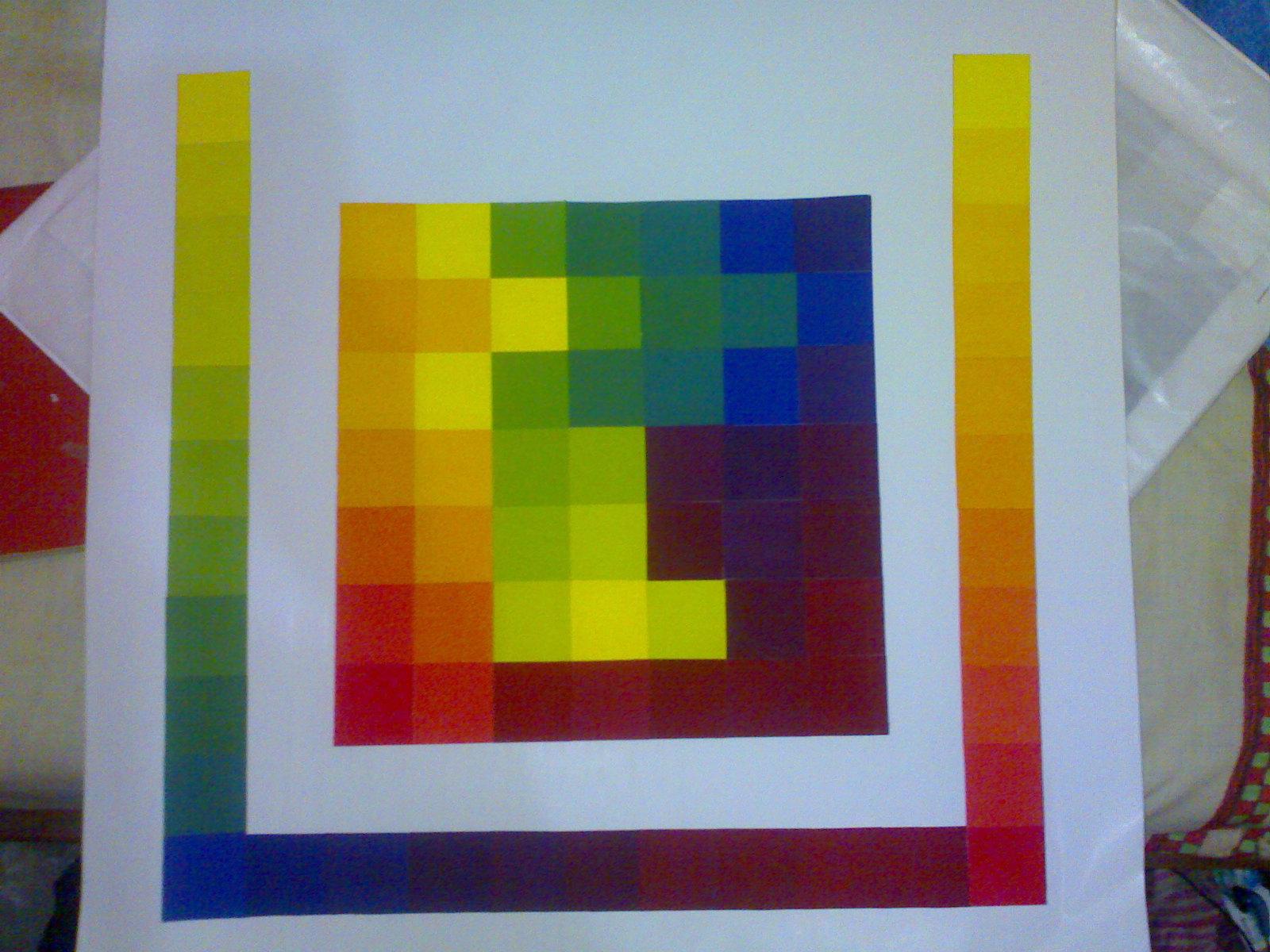 12 Contoh Gambar Gradasi Warna Primer dan Pengertiannya