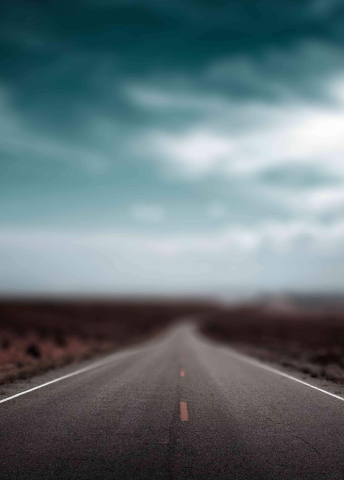 Blur Background With Road and Sky Full Hd