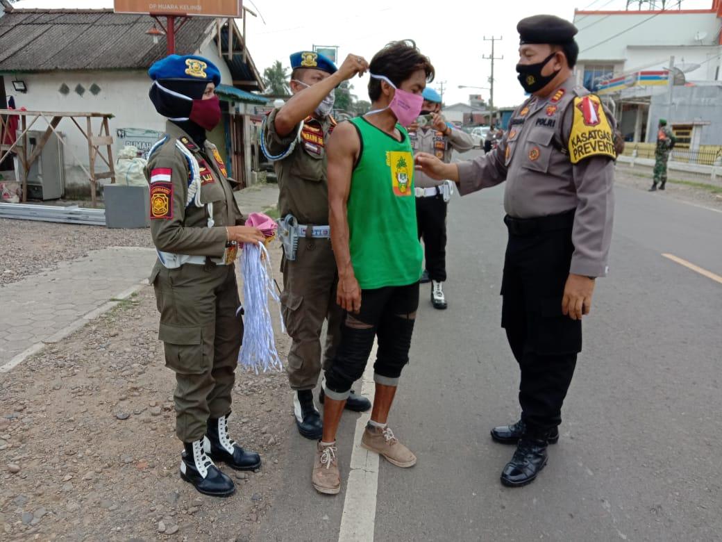 Cegah Covid-19, Operasi Yustisi Terus Digalakkan di Musi Rawas
