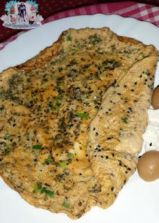 taze soganli corek otlu omlet, taze soganli omlet tarifi, corek otlu omlet tarifi,