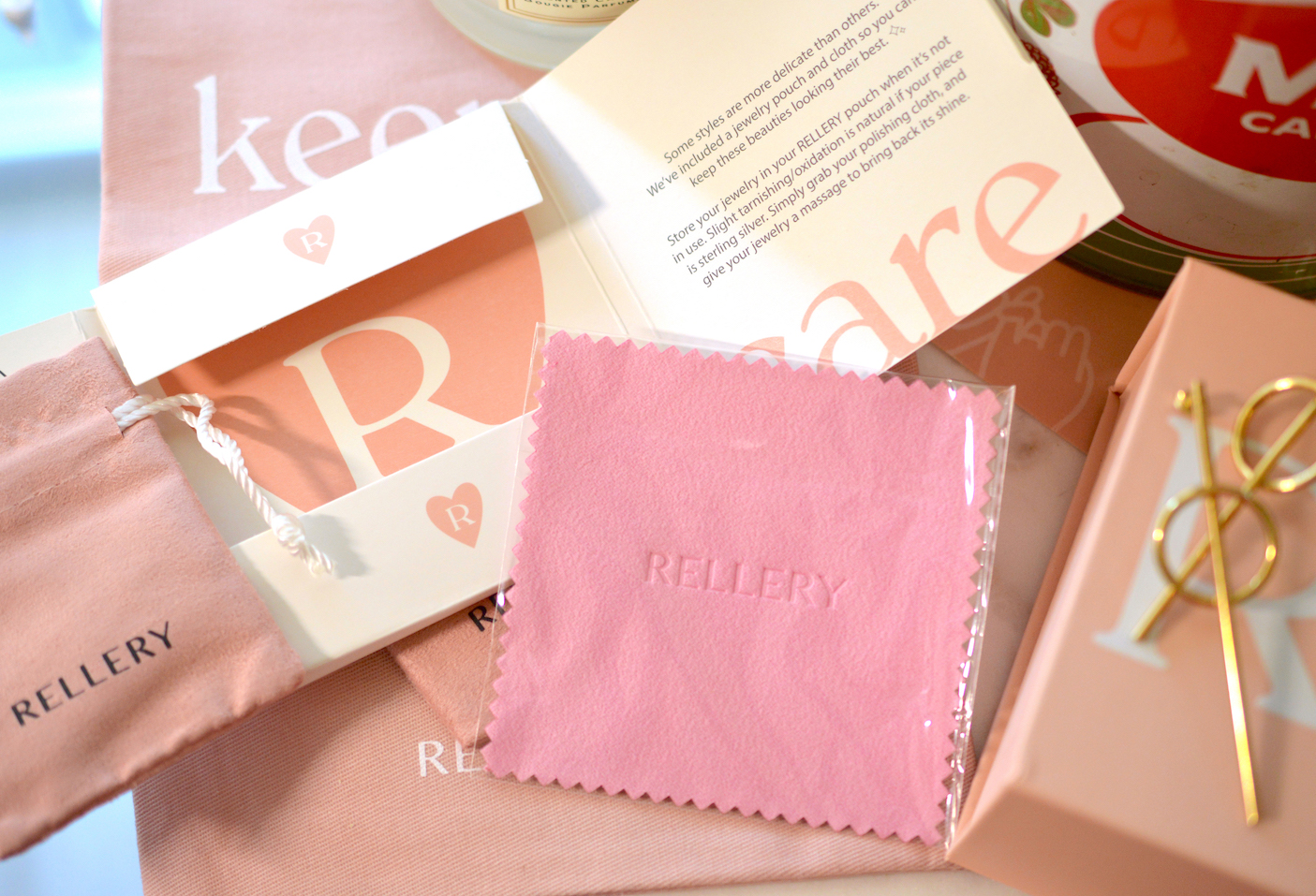 Rellery Review Cleaning Cloth