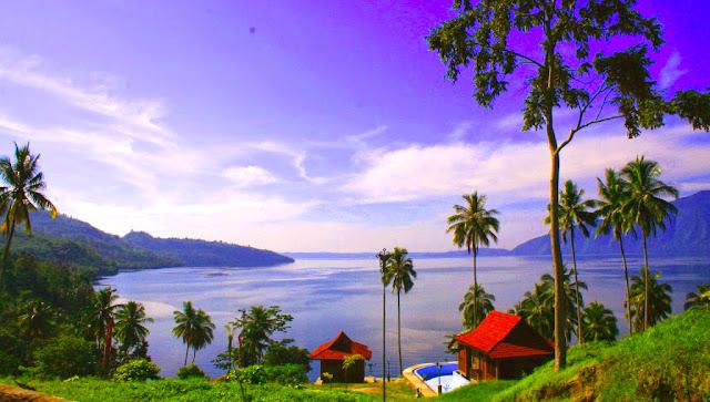 Gambar Danau Ranau Di Sumatera Selatan
