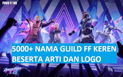 Nama Guild FF Keren dan Logo Belum Dipakai