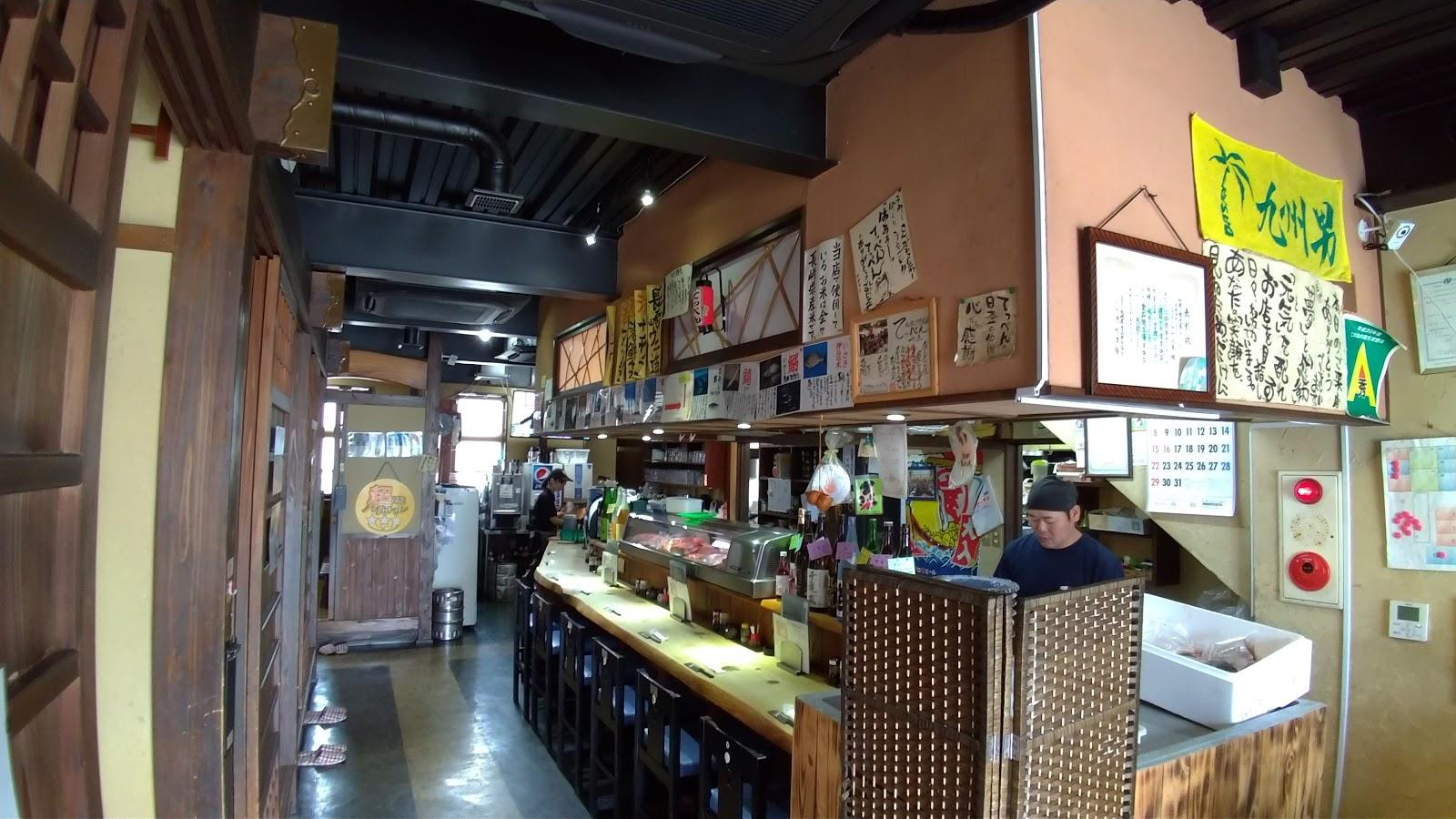 【時津グルメ】豪華海鮮丼の 「てっぺん」へ!大漁刺身定食も絶品!! 店内