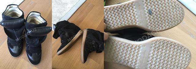 Gülşen'in İsabel Marant markalı ayakkabıları