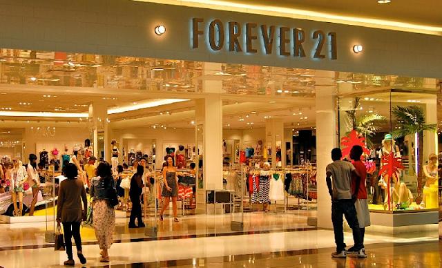 Comprar calcinhas, sutiãs e lingeries na Forever 21 Miami