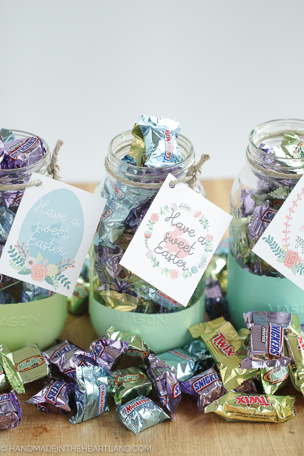 How to make an easy Mason jar gift