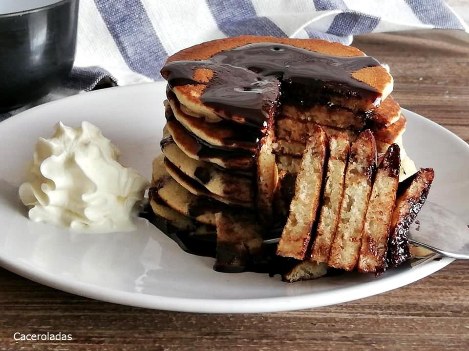 Tortitas americanas muy fáciles y esponjosas