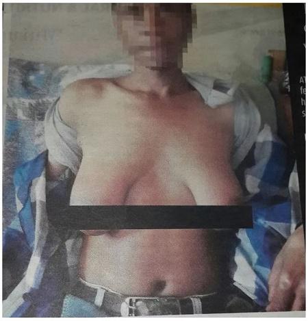 bige Men breast won how