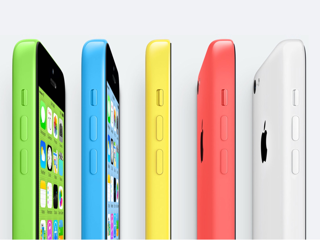 what plastic is the iphone 5c made of