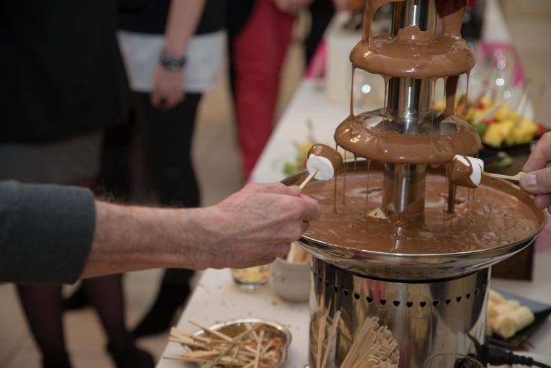 mariage chocolat fontaine