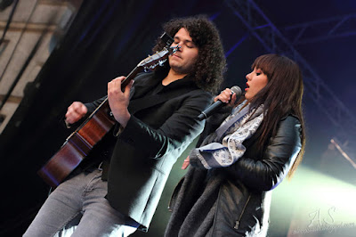 Ewa Farna Koncert,  gitarzysta Martin Chobot - Jelenia Góra