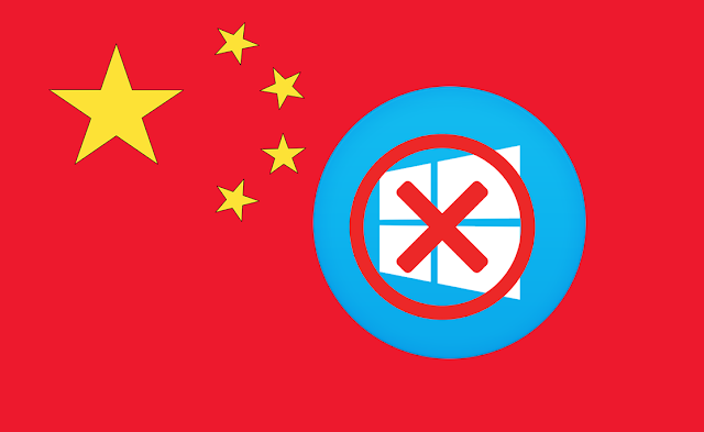 Windows is no longer welcome in China, which is developing its own OS
