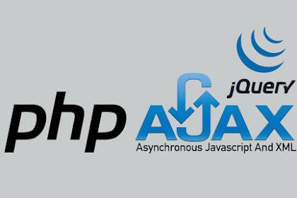 Ajax CRUD PHP PDO dengan Bootstrap  Datatable