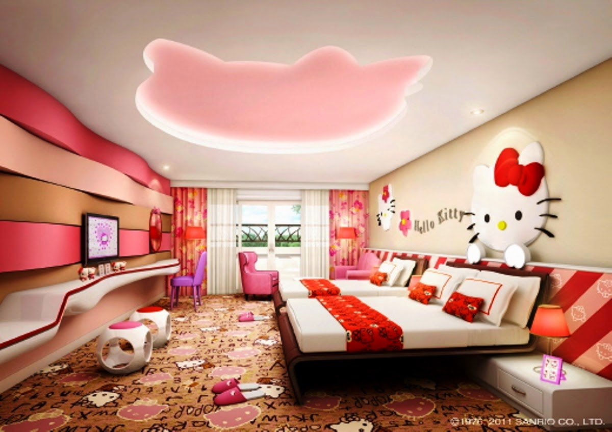 Bedroom Interior Design Hello Kitty 2015 ~ Home Inspirations
