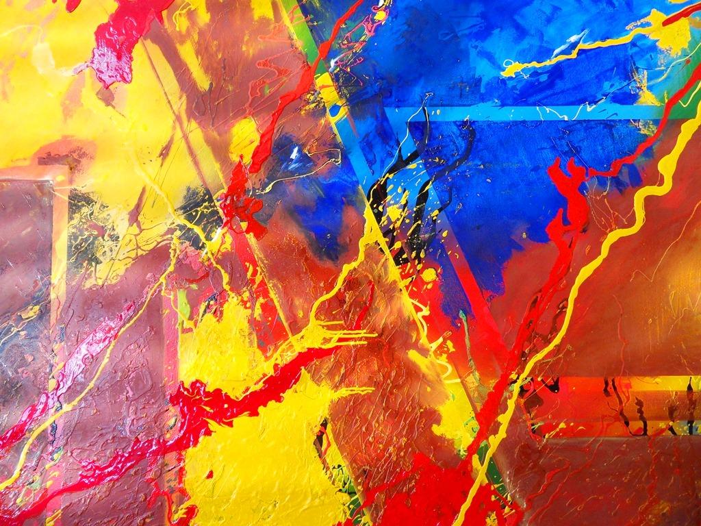 Imagenes de cuadros abstractos for Fotos cuadros abstractos