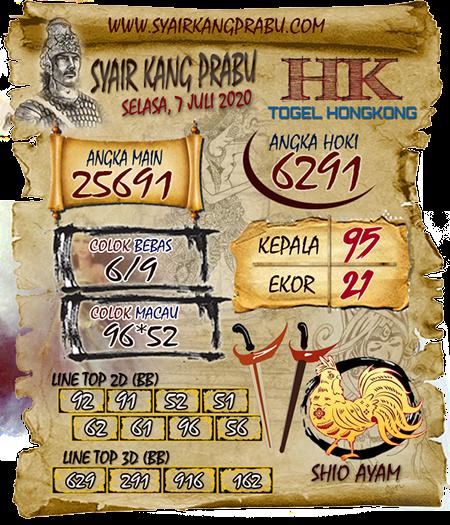 Prediksi Syair Kang Prabu HK Selasa