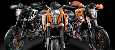 New 2016 KTM Duke 125 three shades HD Wallpapers