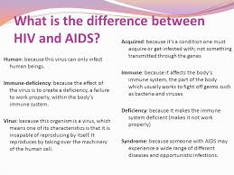 What is the difference between HIV and AIDS? | Positive Peers