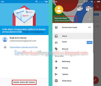 cara membuka email di gmail lewat hp mi xiaomi